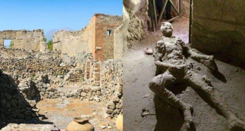 5 11 - ポンペイ遺跡地で発見された「自慰行為中に死亡した男性」?