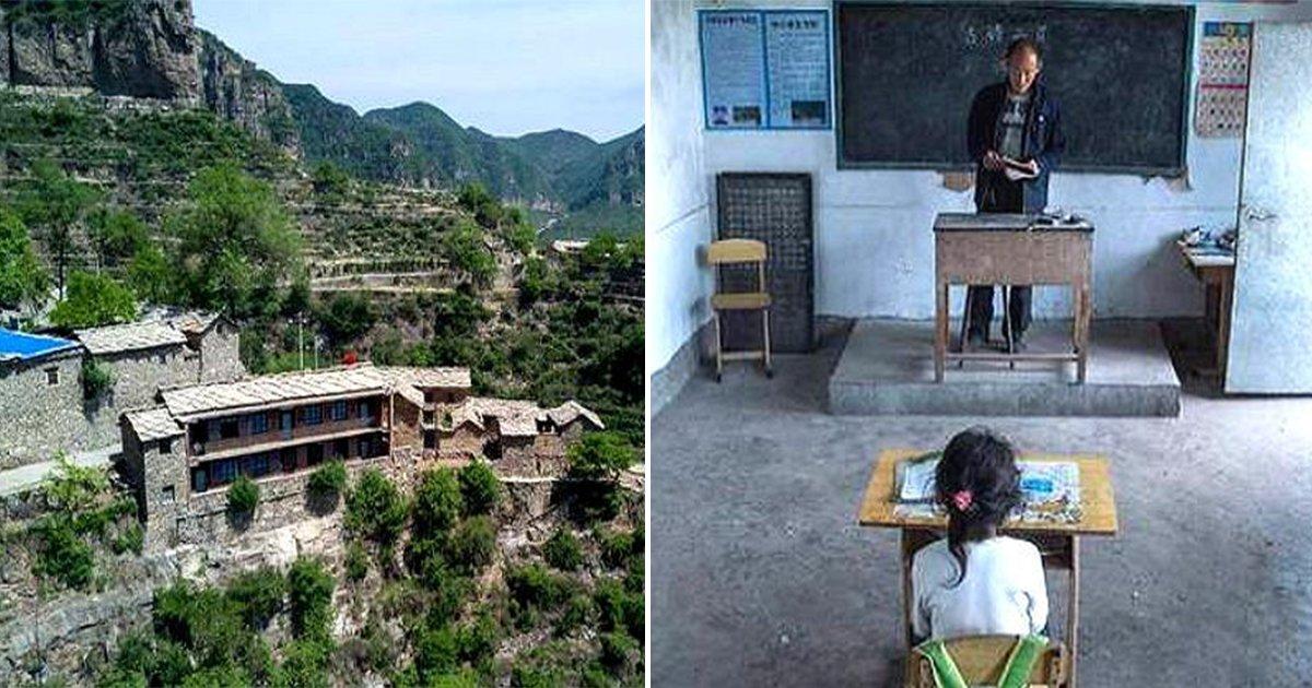 8 - 단 '한 명'의 제자 위해 매일 '절벽 위' 학교로 출근하는 선생님