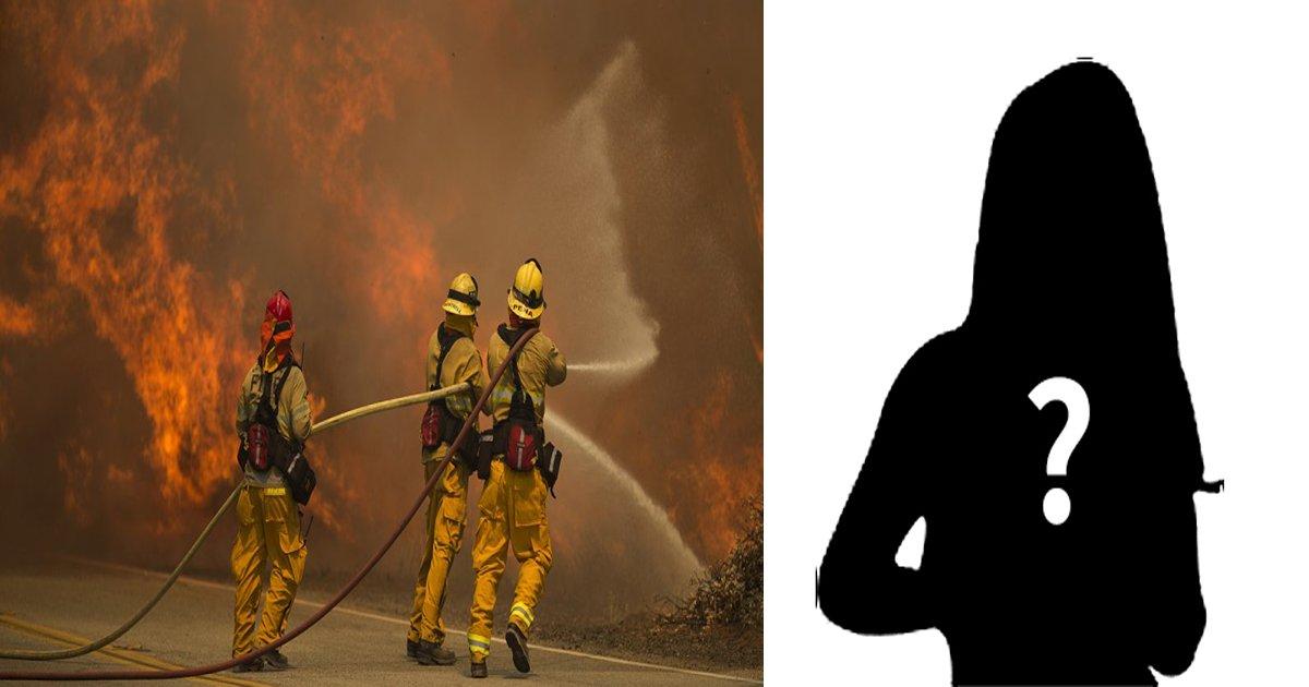 article 5 thumb 1.jpg?resize=1200,630 - 힘들게 산불 진압한 소방관들에게 여성이 보인 '놀라운' 행동