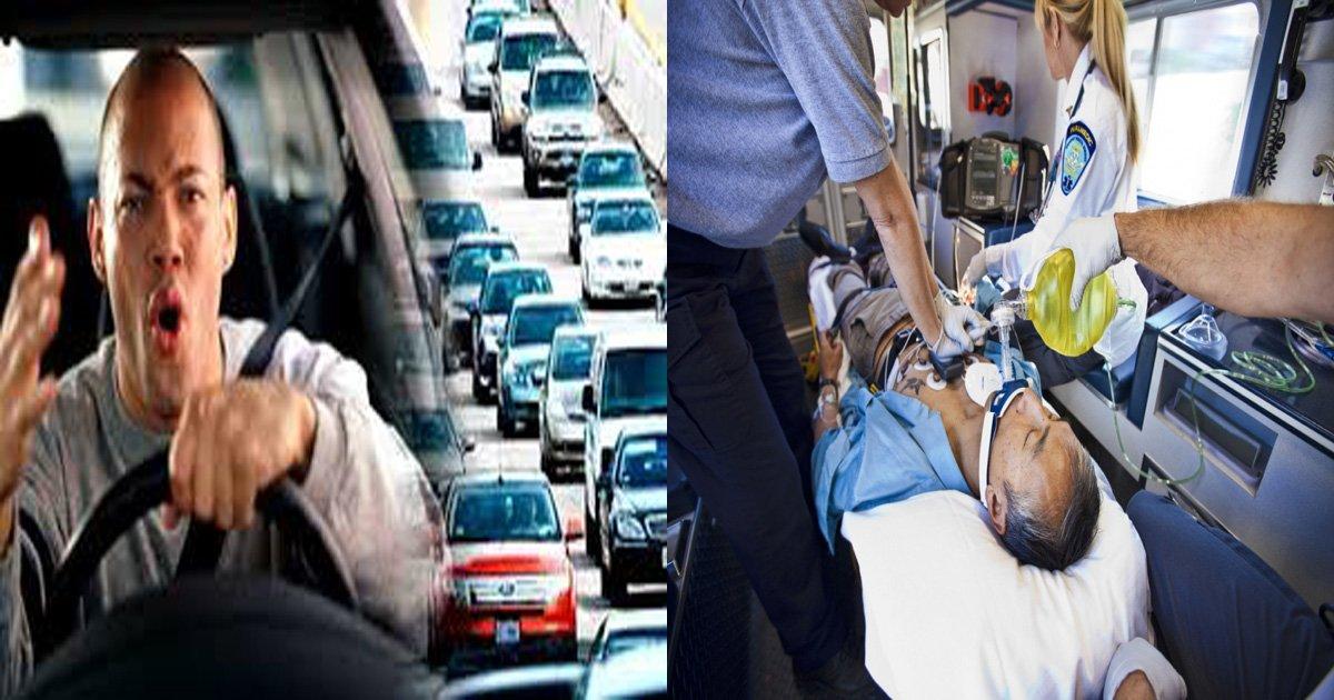 article 7 thumb1 - '일부러' 구급차 앞을 가로막은 BMW 운전자