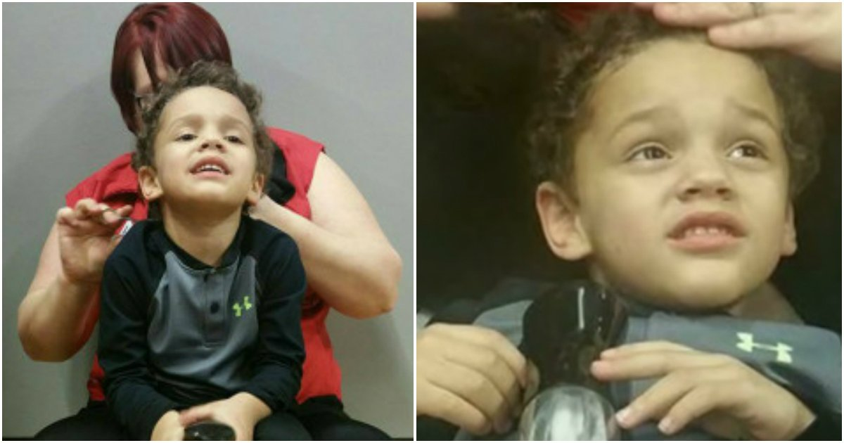 autism baby gets haircut 2.jpg?resize=1200,630 - Barber Praised For Not Giving Up On Cutting Hair Of Boy With Autism