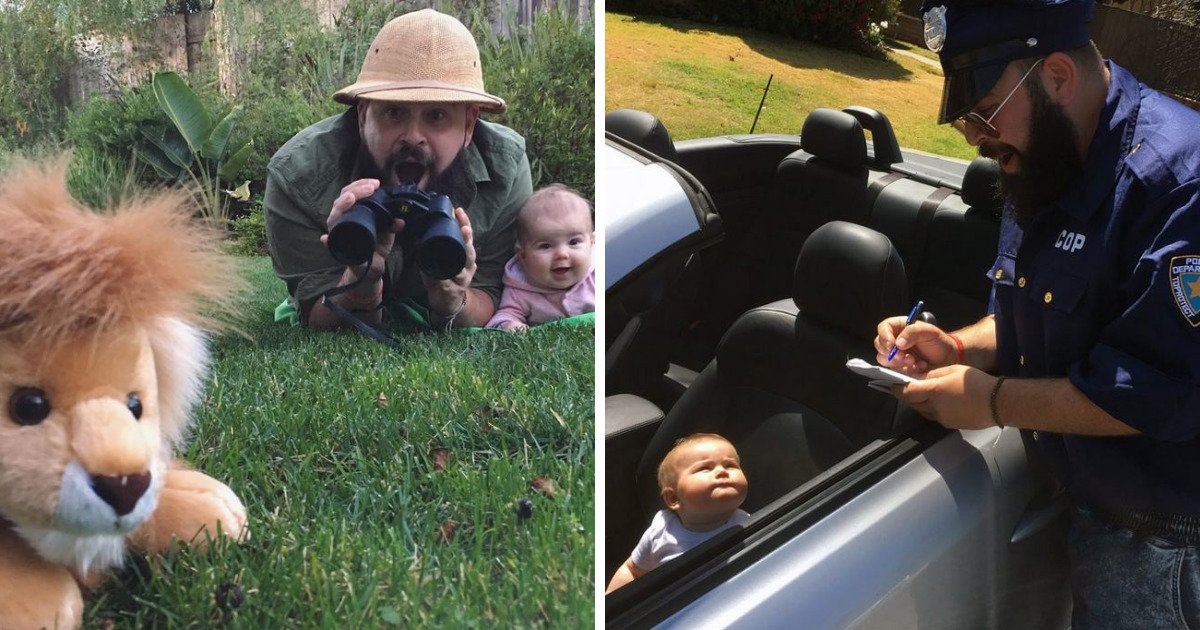 fb image sharing dashboard 594d486a10e6a 1 - Dad Takes Hilarious Pics With His Baby Girl In Costumes And They're Just Too Adorable