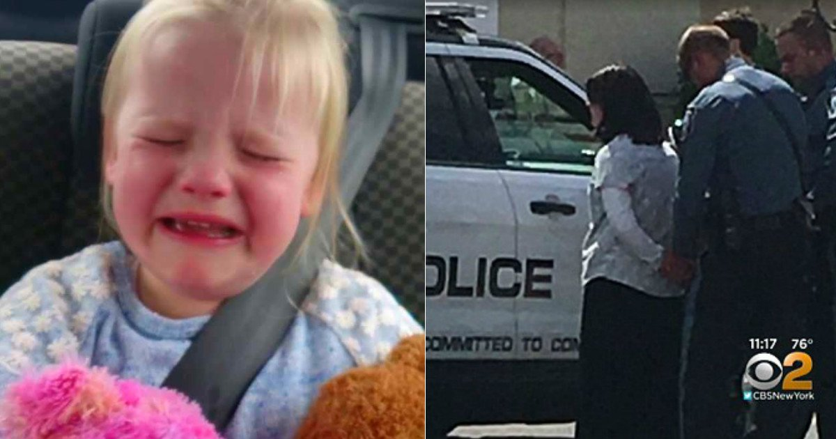 man saves baby in car 2.jpg?resize=636,358 - Cops Finds Baby Crying Alone In The Car, When They Meet Her Mother They Immediately Lose It