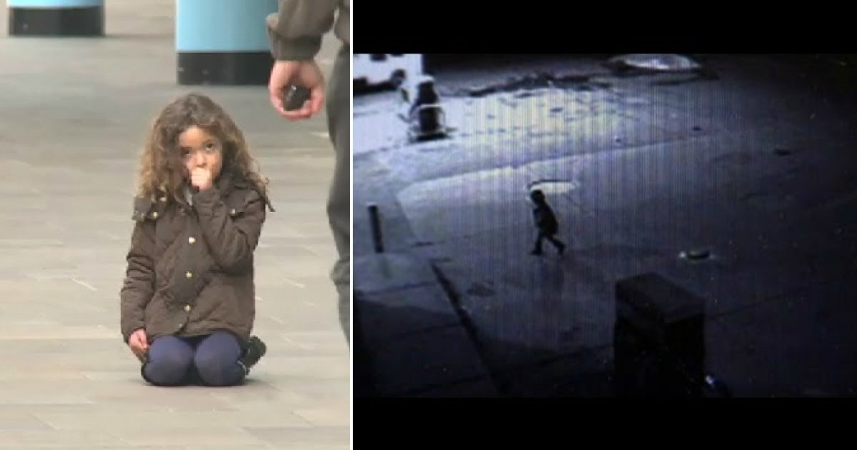 man saves baby.jpg?resize=1200,630 - Man Took A Walk At 3 O'Clock In The Morning And Found A 2-Year-Old Girl All By Herself