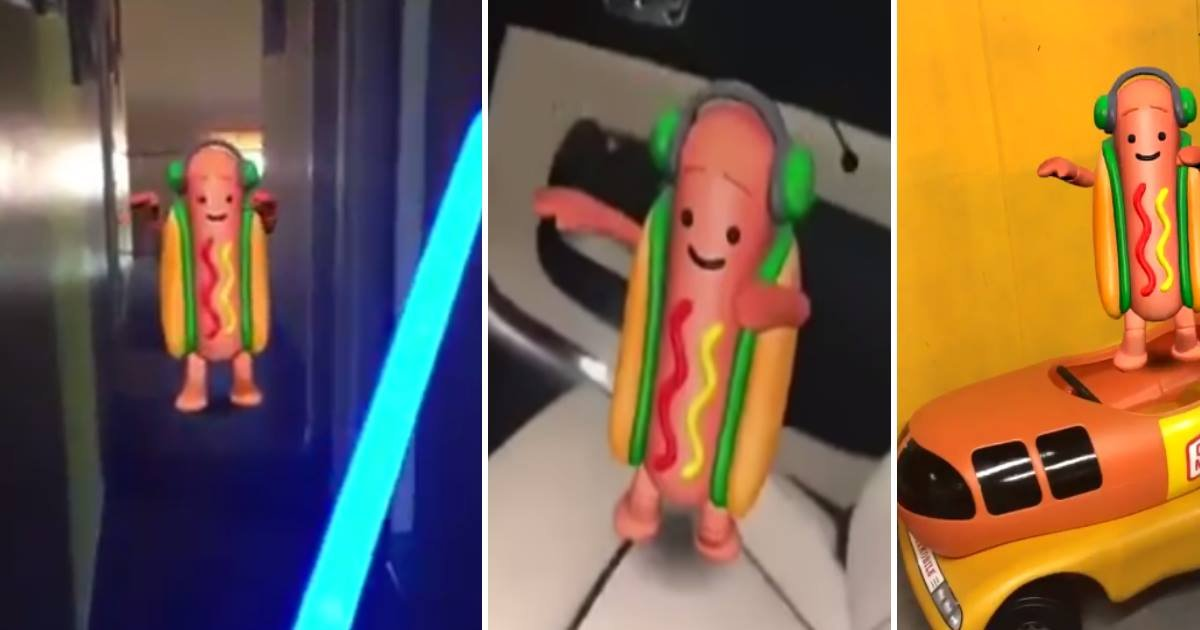 snapchat-hot-dog-dancing