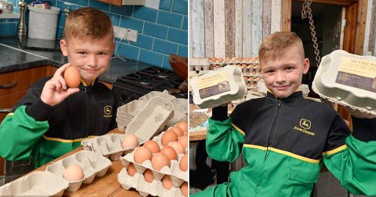 thumbnail 12.jpg?resize=412,232 - 페이스북으로 달걀 장사, 1년에 '2천만원' 버는 8살 소년의 놀라운 사업 수완