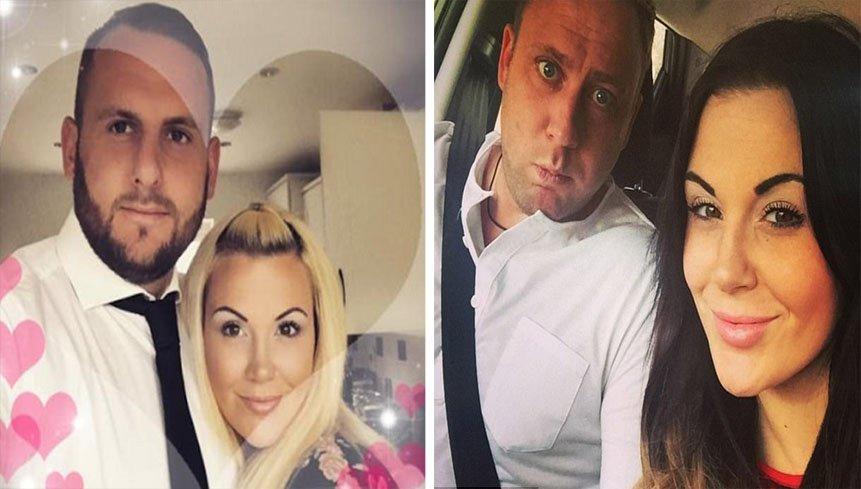 좌: 새로운 연인이 된 크리스와 애슐리, 우: 마이키와 애슐리 / Dailymail