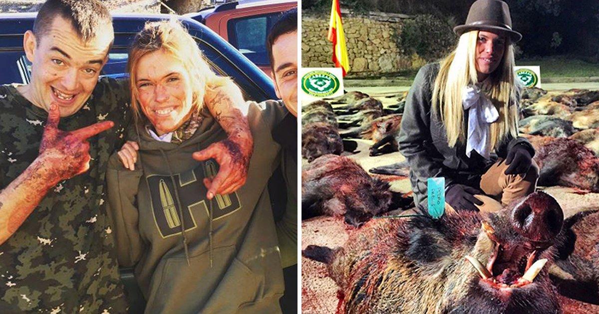 0 3 - 사냥이 취미인 여성, 그녀의 갑작스러운 죽음에 사람들은 '환호'