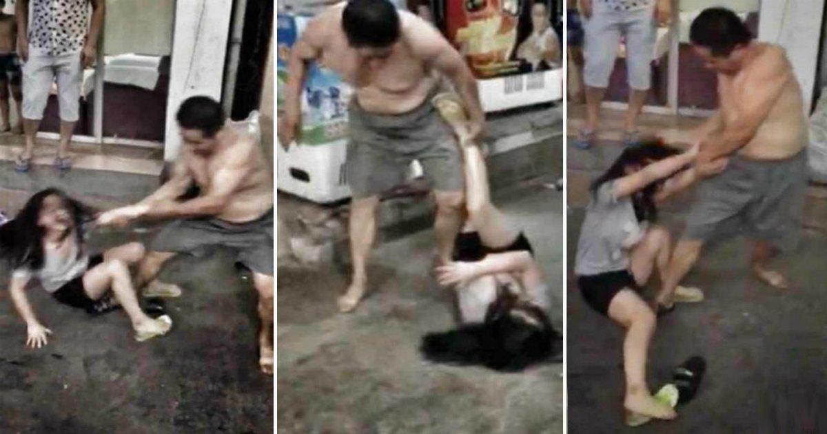 """00 14 - 길거리에서 폭행당한 소녀의 비명...""""1년 동안 아빠가 절 성폭행했어요"""""""