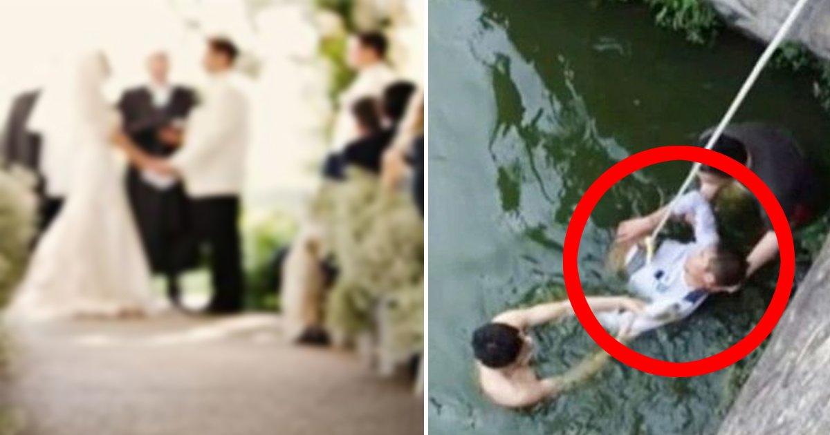 00 42 - '못생긴' 신부 때문에... 결혼식 날 '자살시도'한 남편