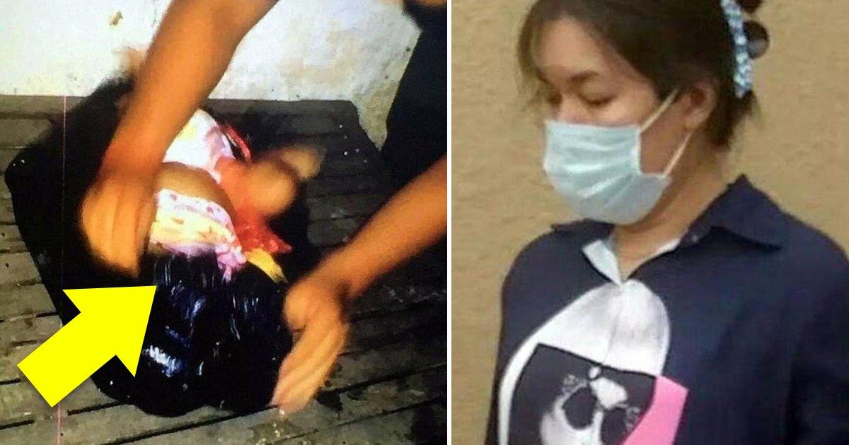00 44 - 자신의 '빚' 때문에 '5개월' 된 친구의 딸을 '쓰레기 봉지'에 납치한 여성