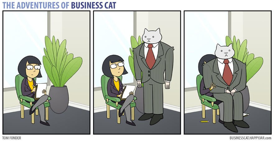 1 22 - What if your BOSS was a CAT? (10+ genius photos)