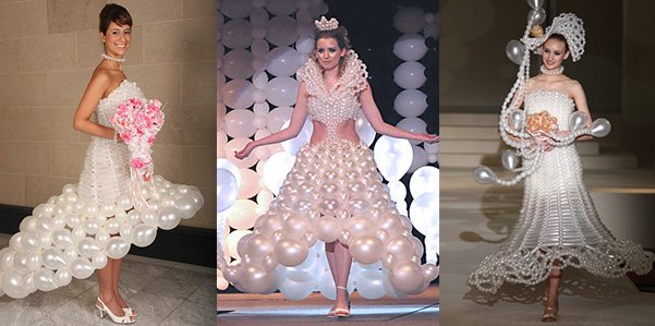 11weirdweddingdress - 18 Wedding Dresses That Are Just Downright Bizarre