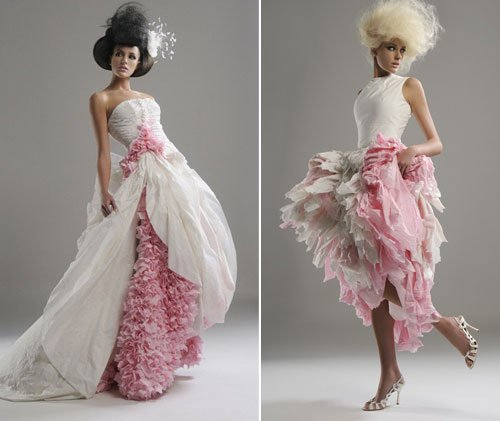 12weirdweddingdress - 18 Wedding Dresses That Are Just Downright Bizarre