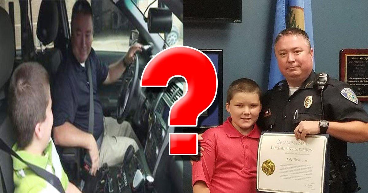 좌: 5News / 우 : Facebook | Poteau Police Department