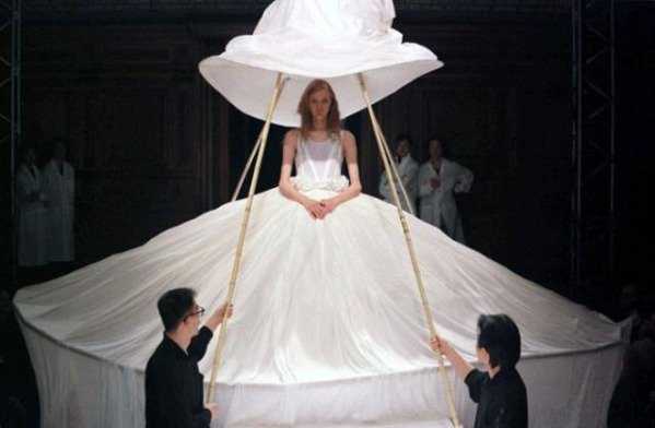 15weirdweddingdress - 18 Wedding Dresses That Are Just Downright Bizarre