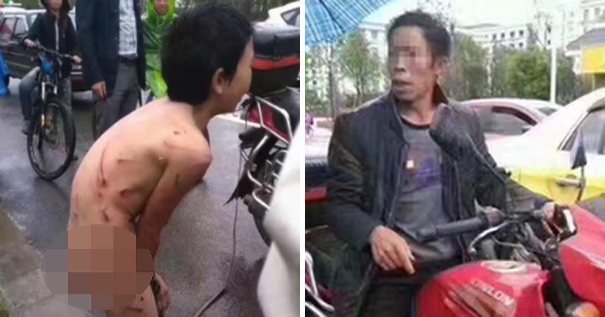 1708080300th3 - 아들이 2만 원을 훔쳤다는 이유로 채찍질한 아빠, 학대 논란(영상)