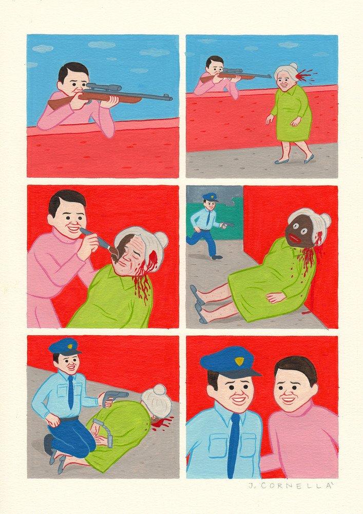 3269 6044 13 cont - 어른들을 위한 잔혹동화, 귀엽고 불편한 일러스트 작품 (사진 15장)