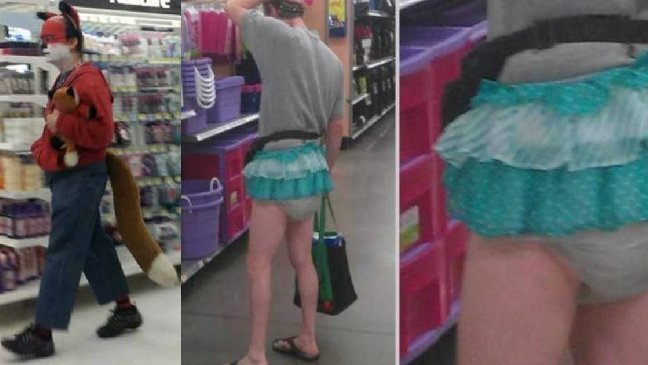 44 people of walmart.jpg?resize=648,365 - 44 Funny Photos of the Strangest, Most Unusual Shoppers from Walmart