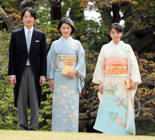 秋篠宮夫妻と眞子さま