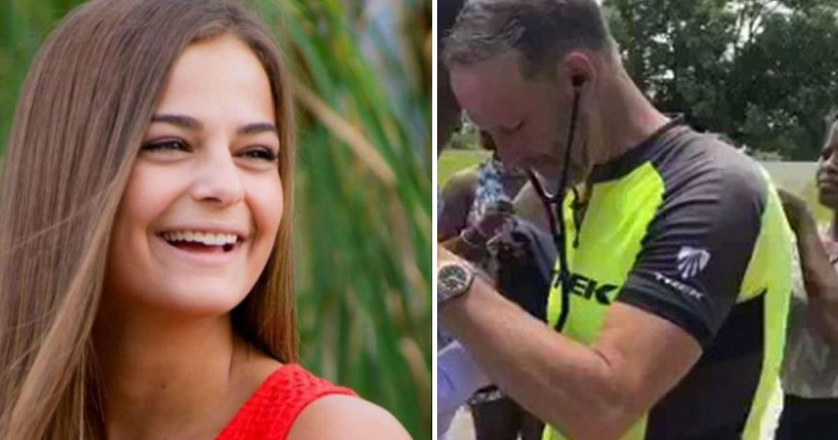 dad rides for daughter.jpg?resize=412,232 - Father Who Lost His Daughter Met Her 'Heart' Again After She Donated Her Organs To Four People