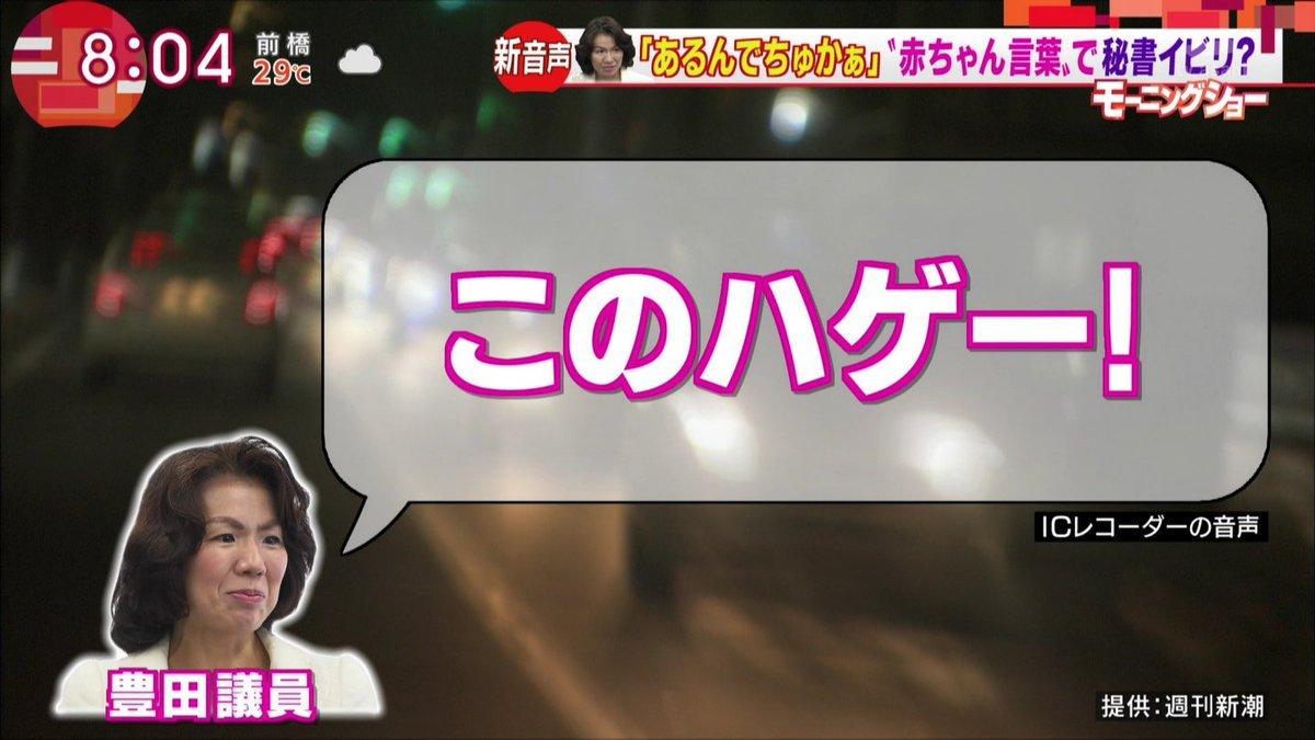 dddjjbzuwaaj1xw 300x169 - 「このハゲー!」で有名な豊田真由子議員の家族は今どうなったいる?