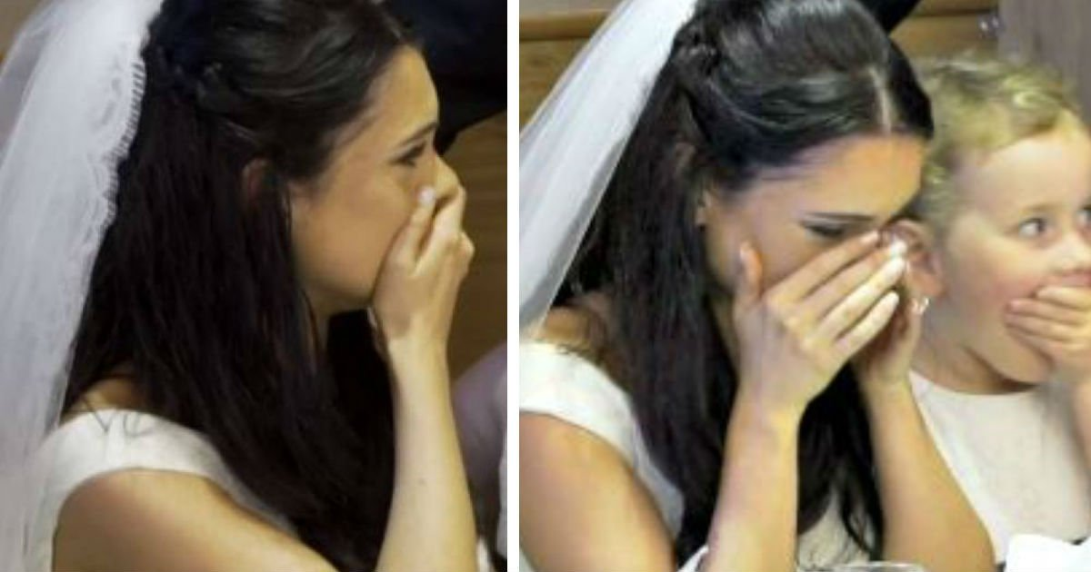 face image wewerrfdg - Groom Suddenly Leaves Wedding Hall, And Bride Has No Idea Why. Soon, She Begins To Tear Up