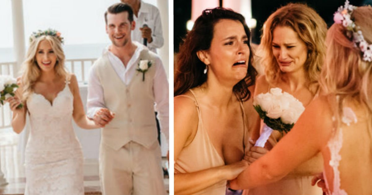 face image wer.jpg?resize=300,169 - Bride Is About To Throw Bouquet, But Suddenly, A Man Takes It And Goes Down On His Knees