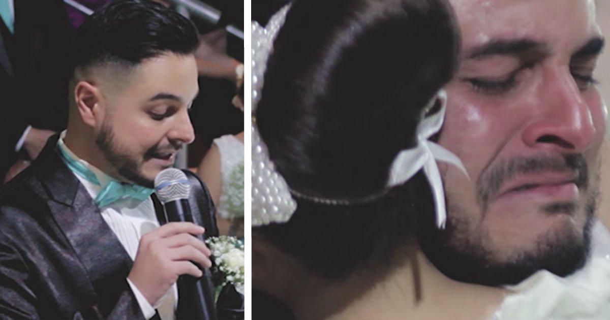 facec.jpg?resize=648,365 - [Vidéo] Le jour de son mariage, il confesse à la mariée aimer une deuxième personne.