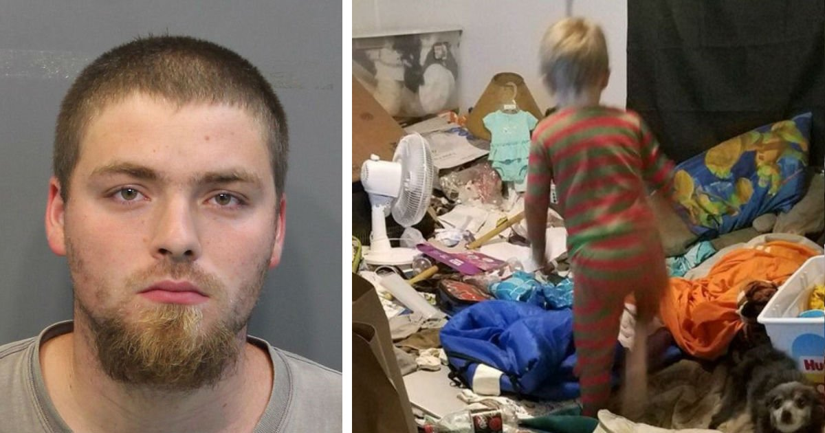 fddsffsasddfsdfsdf.jpg?resize=1200,630 - Couple, Both 31, Arrested For Child Negligence After Officers Discovered Children Were Living In Deplorable Conditions