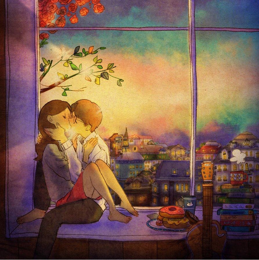 img 59a054a51407b - 소소한 일상 속에서 발견하는 '사랑'에 관한 일러스트 작품 (사진 23장)