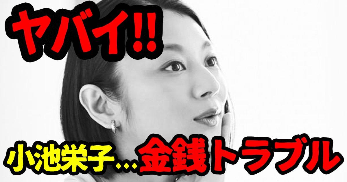 koikeeiko ttl.jpg?resize=412,232 - 小池栄子の金銭トラブル、稼げども稼げども旦那のせいで足りない?