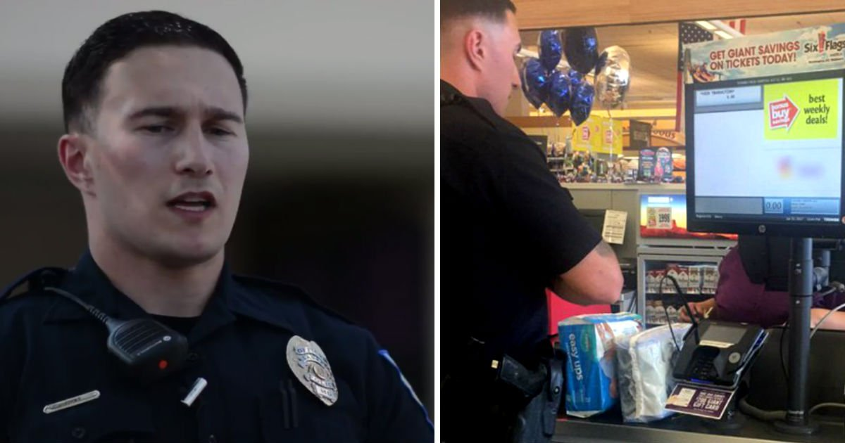 police diaper.jpg?resize=648,365 - He Gets A Call For Shoplifter. When He Arrives To The Scene, He Takes An Immediate Action But Not Catching Her