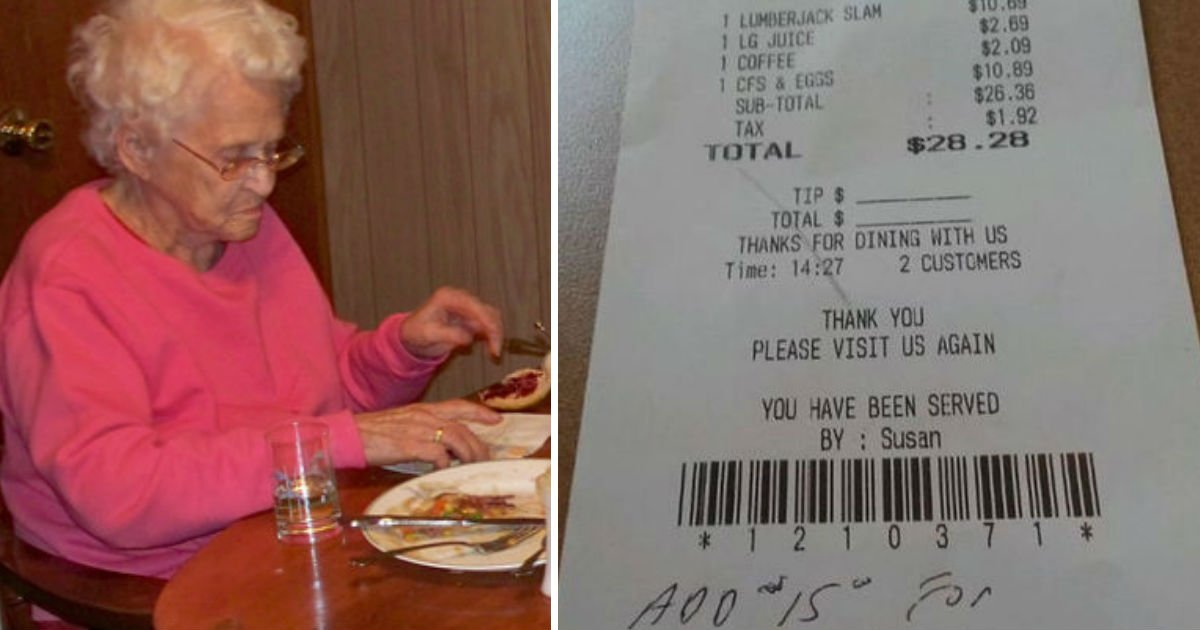 rude server.jpg?resize=648,365 - She Eats Alone And Asks For The Check. As She Checks The Bill, She Is Immediately Disgusted