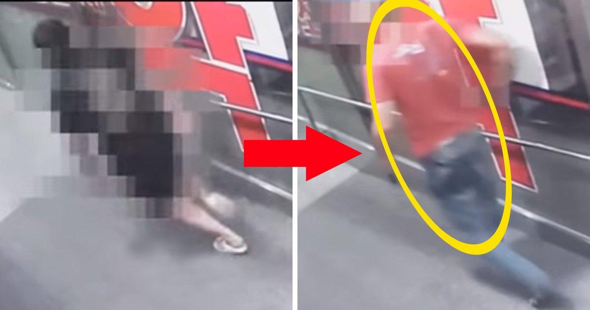 KBS뉴스 캡처-전자발찌를 착용한 남성이 피해 남성을 뒤쫓는 장면
