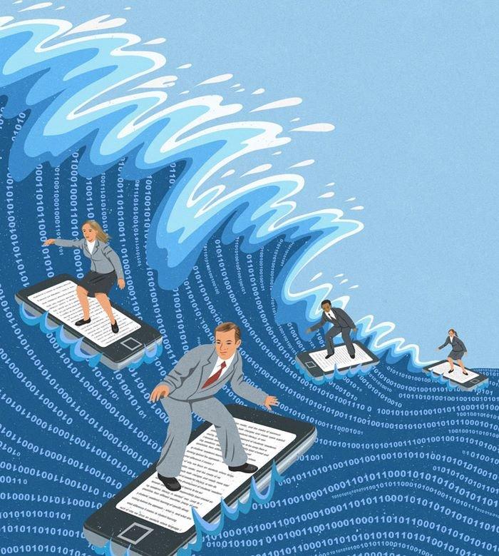 todays problems illustrations john holcroft 41 593113c8cad86 700 - 현대 사회의 '어두운 면'을 소름끼치게 표현한 일러스트 23장