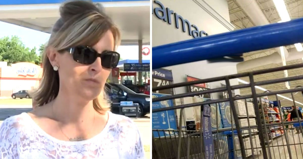 walmart razor 1.jpg?resize=636,358 - She Is Just About To Start Shopping. But She Finds Dangerous Cart And Immediately Calls 911