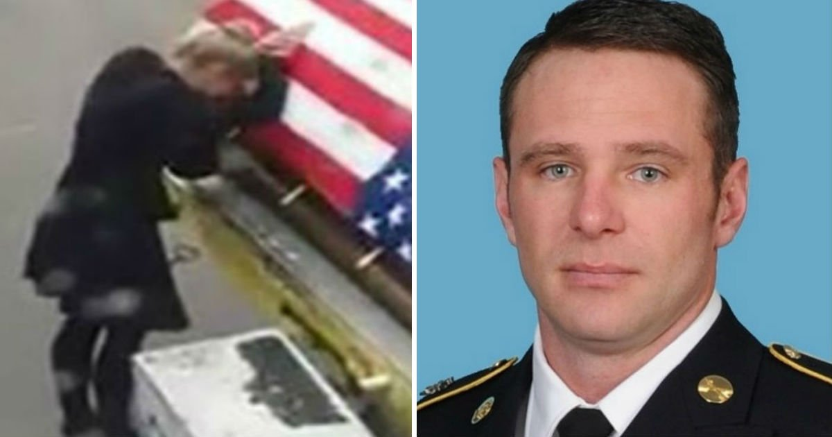 war hero comes back 1.jpg?resize=1200,630 - Heartbroken Wife Broke Down When She Finally Saw Her Husband's Coffin At The Airport