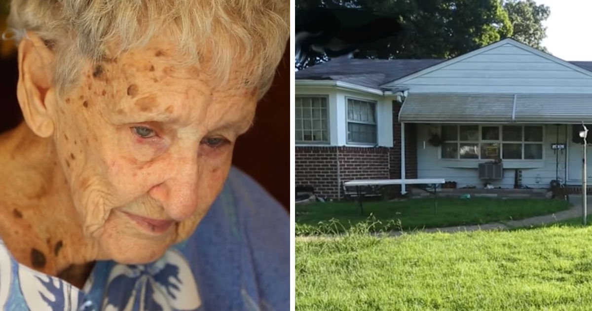 widow faces fines.jpg?resize=1200,630 - 90-Year-Old Woman In Tears When Community And Strangers Came To Fix Her House
