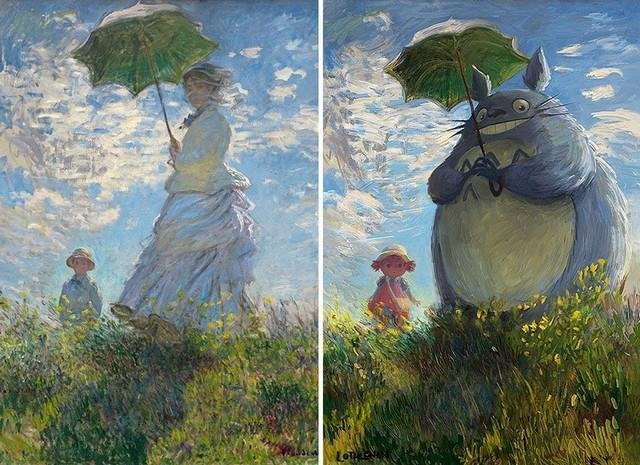 1 classic 2.jpg?resize=412,232 - Artista digital faz releitura de pinturas clássicas com um olhar geek