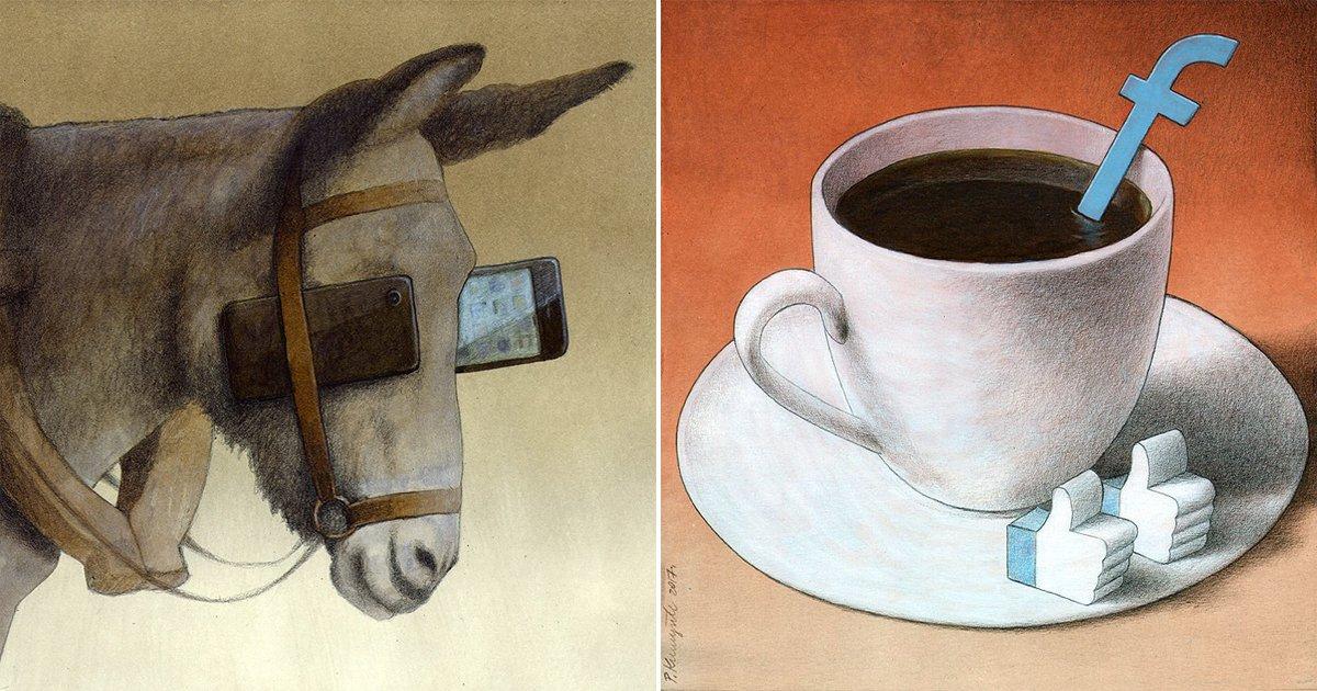 1709170800th.jpg?resize=412,232 - 우리 사회의 '현실'을 폭로하고 있는 만화가의 작품 20개