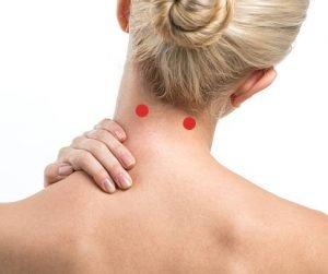 acupresion zona cuello