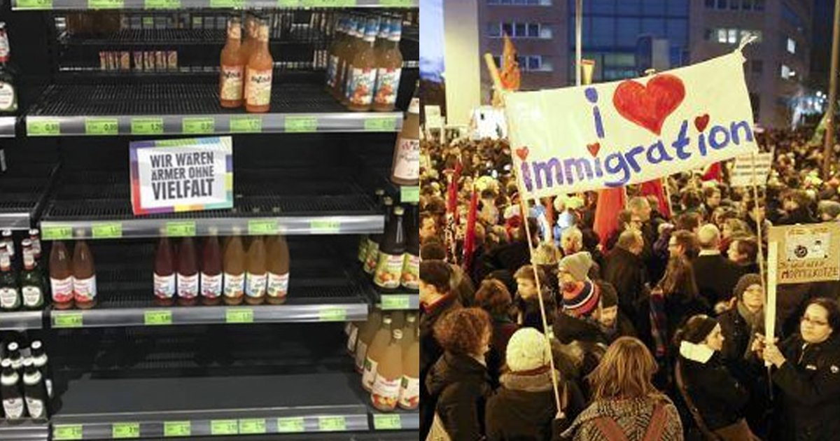 616a8b200f2e0ed5150674763f7257bd 1.png?resize=412,232 - 為了讓大家正視「種族歧視」的嚴重性!德國超市把所有「國外商品」都下架了!