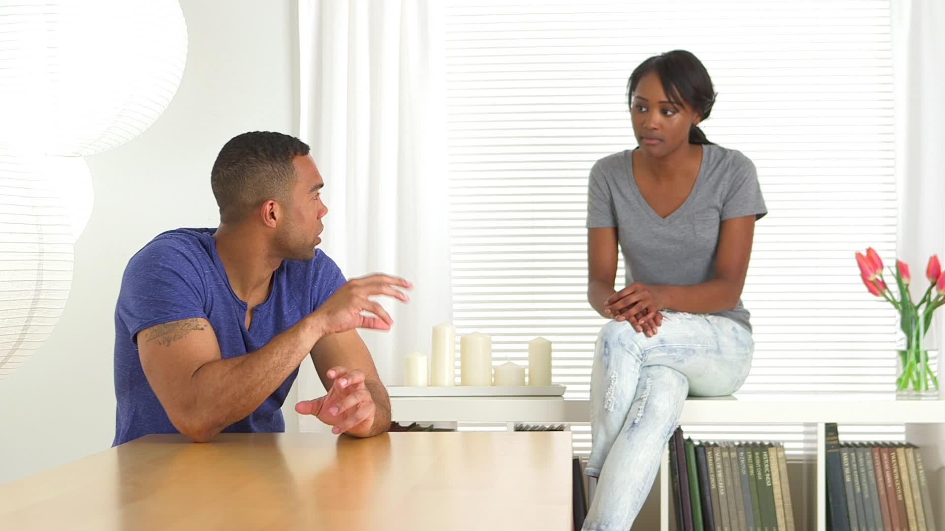 black-couple-casually-talking-each-footage-023901615_prevstill