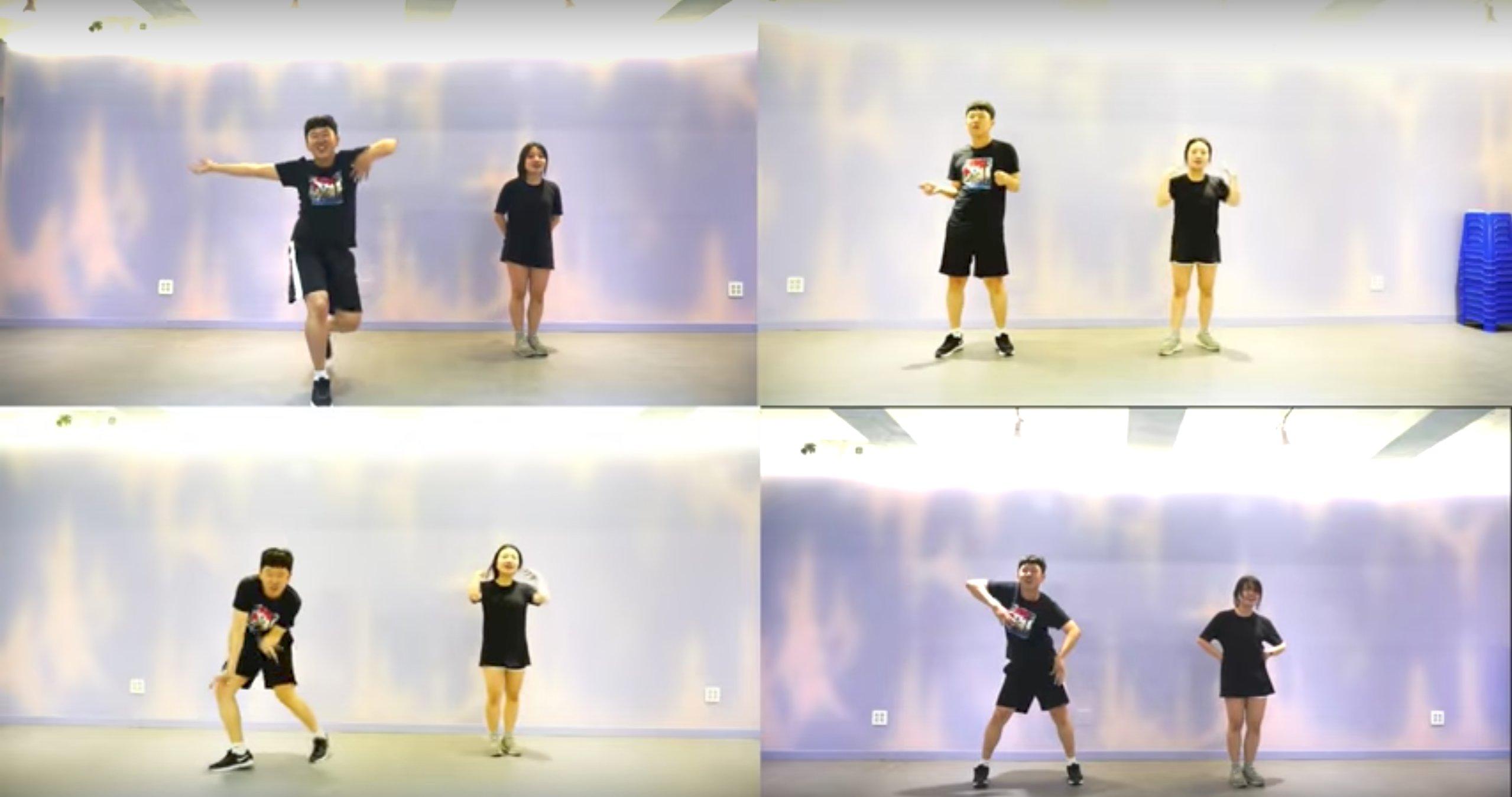 e89ea2e5b995e5bfabe785a7 2017 09 27 e4b88be58d886 20 21.png?resize=300,169 - 3分鐘就腿軟!韓國情侶跳「2週瘦10kg」舞蹈爆紅,跳一次就讓你「累到叫媽!」