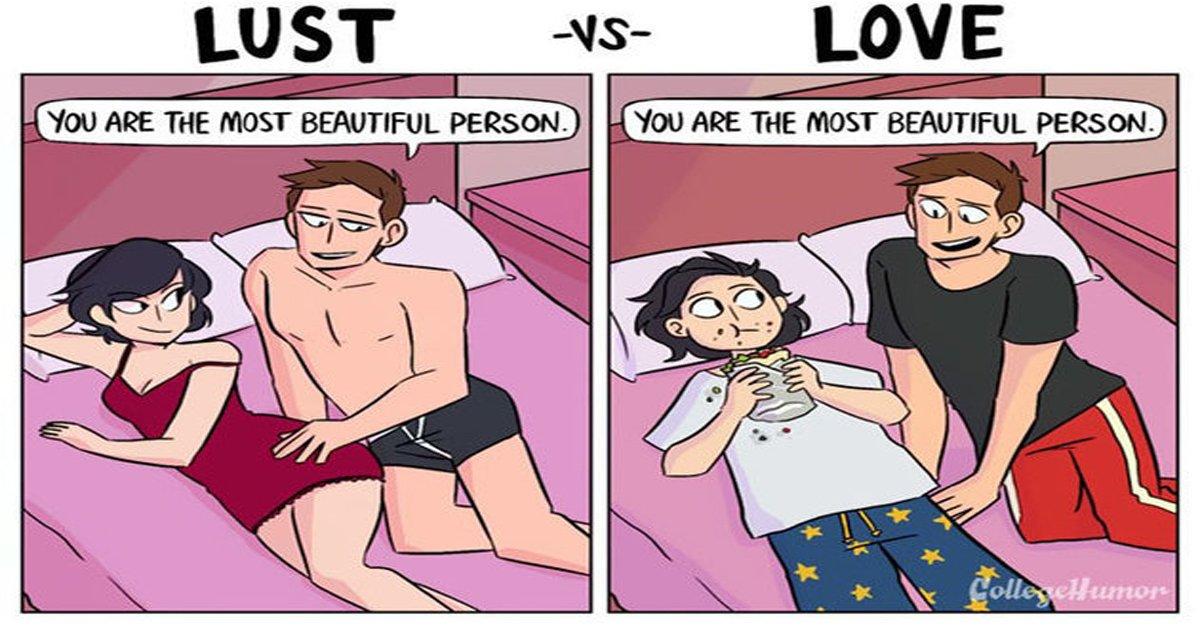 """eca09cebaaa9 ec9786ec9d8c 9.jpg?resize=1200,630 - """"성욕 혹은 사랑"""" 연인과의 관계 보여주는 두컷 만화 6편"""