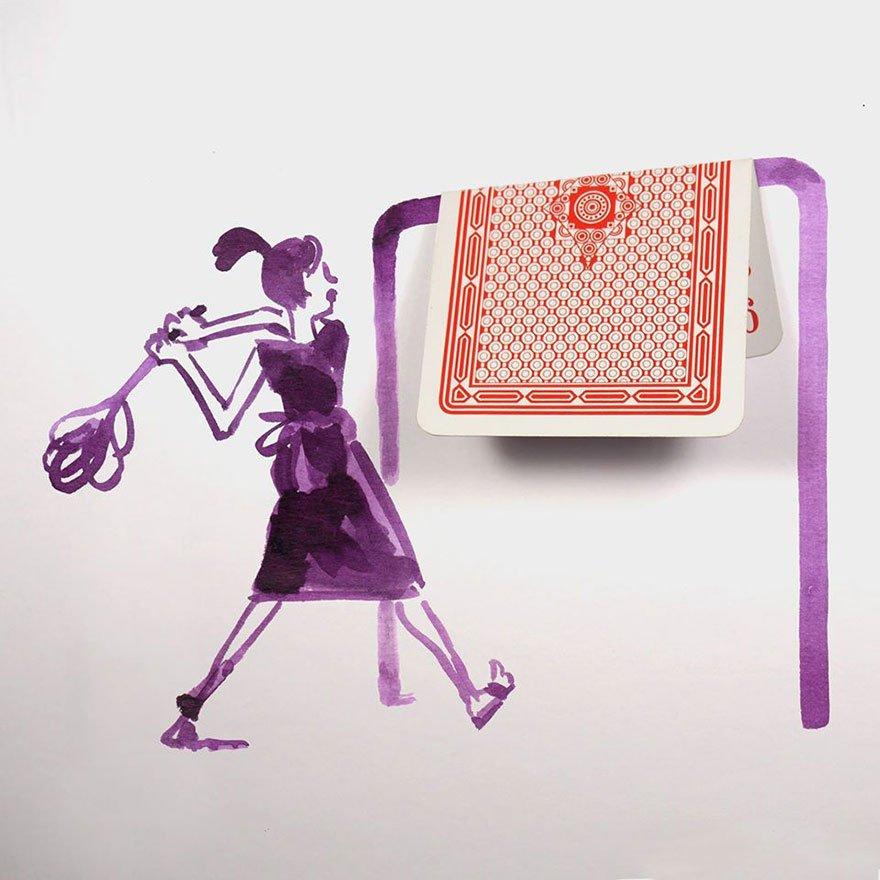 "everyday object creative illustrations christoph nieman 14 57580a8e1d413  880 - ""생활의 발견""...일상 속 사물을 활용한 기발한 일러스트 작품 (사진 23장)"