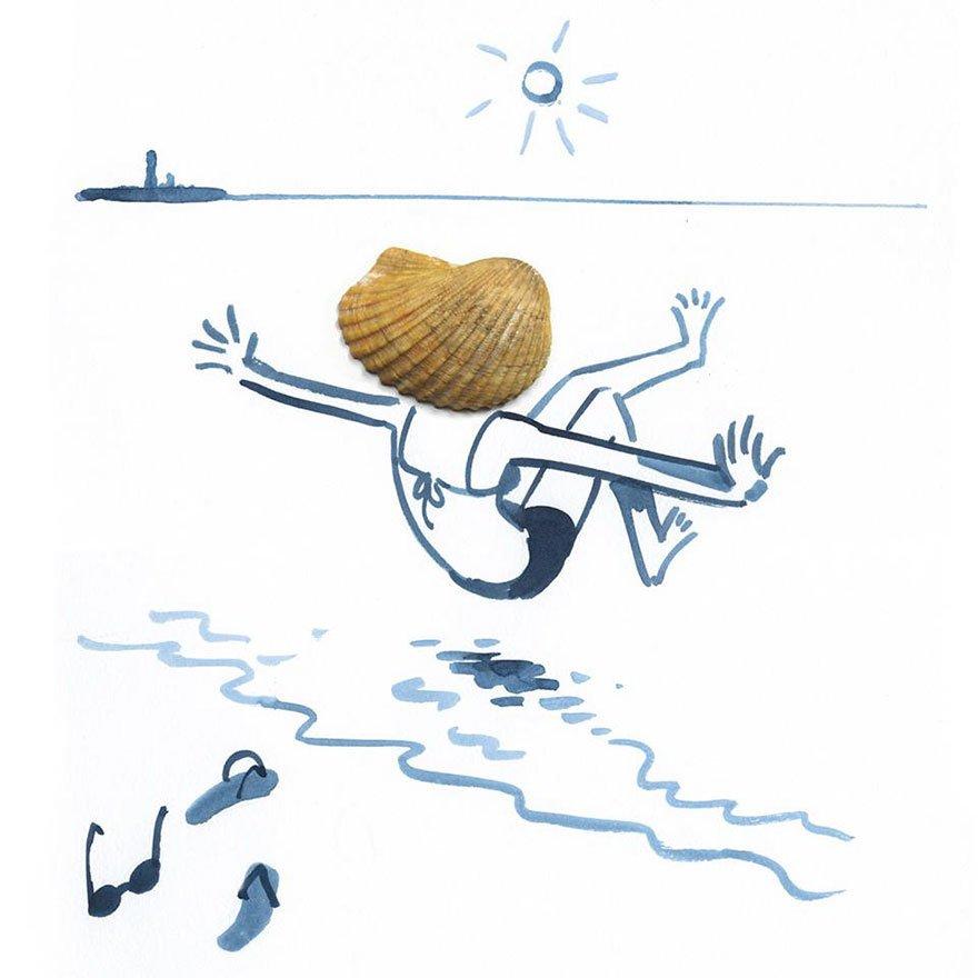 "everyday object creative illustrations christoph nieman 51 57580b07c1dbc  880 - ""생활의 발견""...일상 속 사물을 활용한 기발한 일러스트 작품 (사진 23장)"