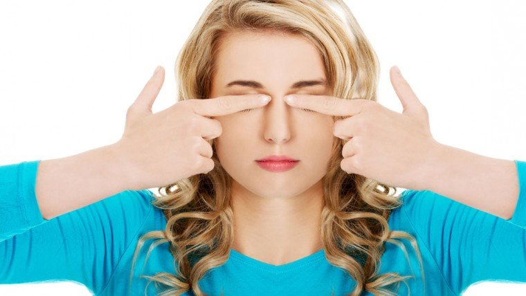 eye massage and exercise  gooles4u - 눈 앞부분을 '꾹꾹' 누르면 '쩍쩍' 소리가 나는 이유