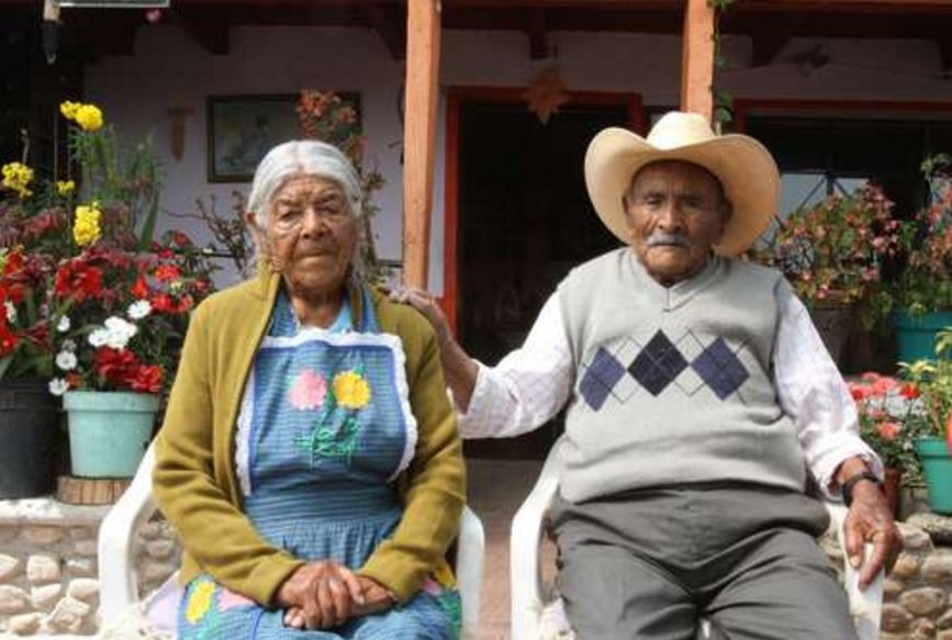 pareja 85 anos casados 1 - Eles estão casados há mais de 85 anos e ainda se amam MUITO